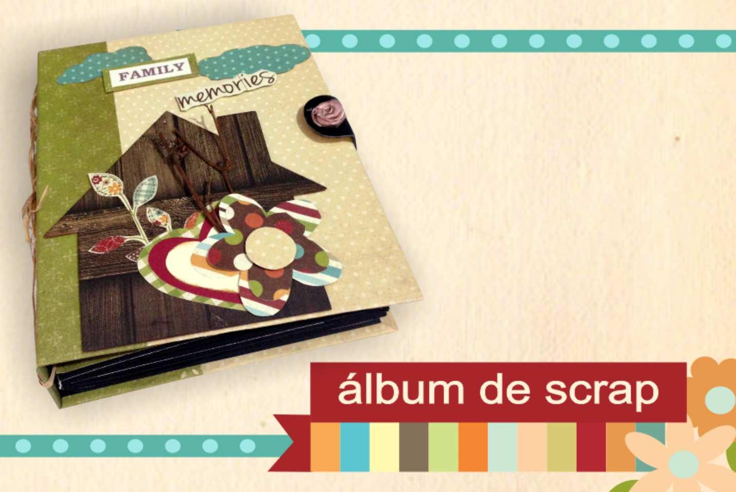 Álbum de Scrapbooking