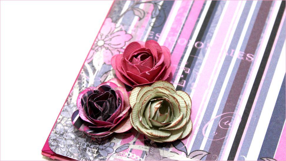 quer saber  o fazer mini flor de papel para decorar o que voc