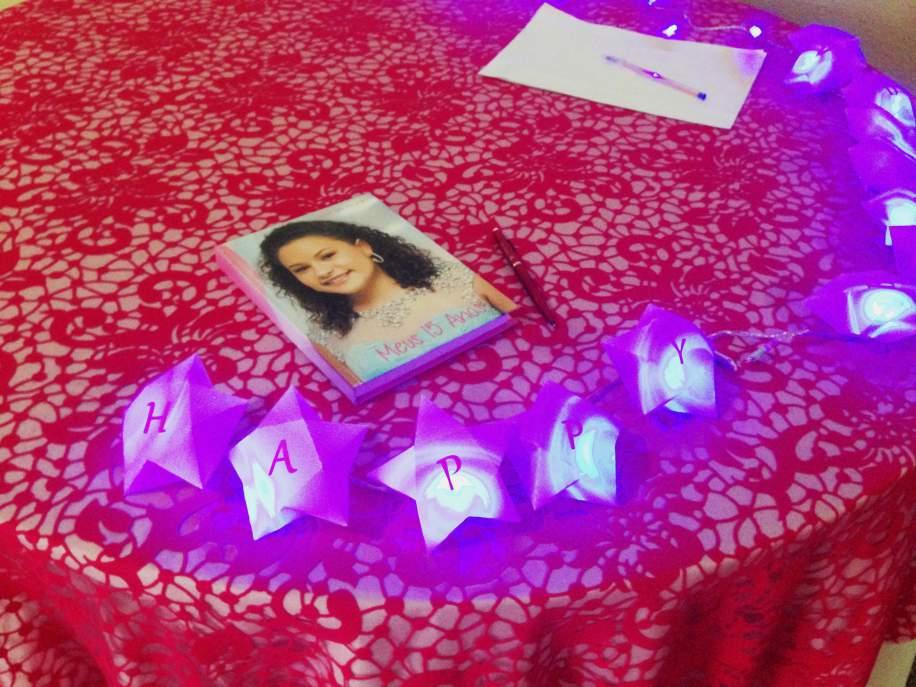 Decoração Mesa com Lembranças 11a