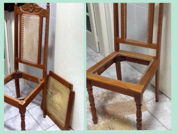Restauração de cadeira