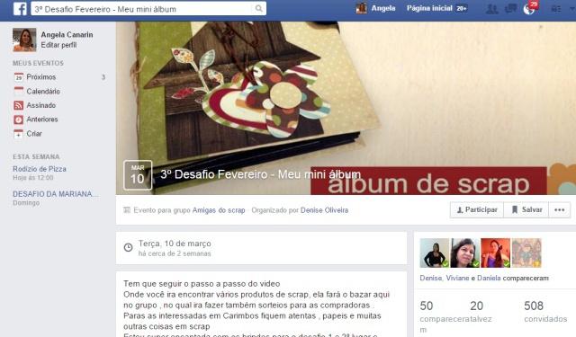 Arte e Relacionamento em Grupo do Facebook