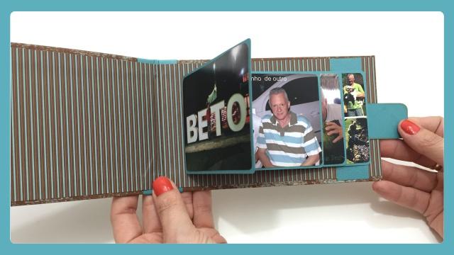Cartão Cascata - Técnica de Scrapbook 2