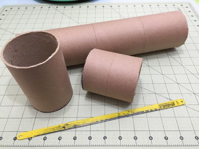 Porta-lápis com canudo de papelão 3