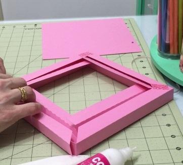 Molde quadro box