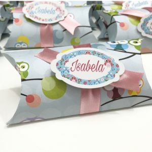 Molde Embalagem Pillow box