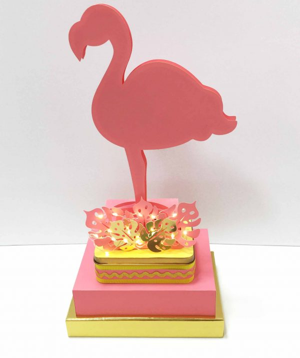 Kit Arquivos e Moldes Flamingo