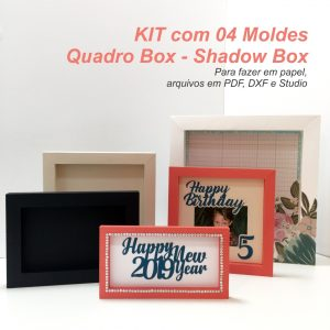 Kit Moldes Moldura Quadro Box